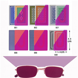 Infrared Cheating Sunglasses used for mark card
