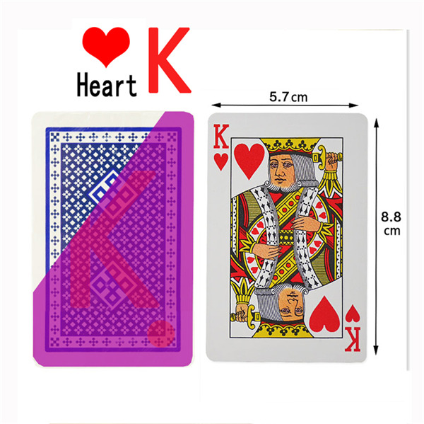 marked card
