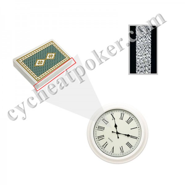 Clock Cheating cards devices Poker Scanner Magic Spy Playing Cards