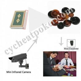 True Button Poker X-ray camera Cheating Cards Device CVK500 CVK600
