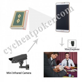 Samsung S718 cheating Poker Analyzer x-ray camera scanning marked card