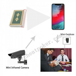 iPhone Mobile Poker X-ray lens Scanner Texas Holdem Poker Cheating Equipment