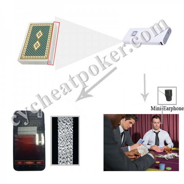 Charger Camera poker scanner  for Texas Omaha Flush In out game