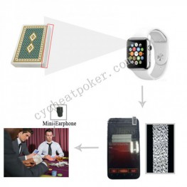 Smart Watch spy camera Trick Device gambling win card