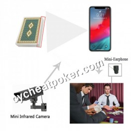 Iphone 11 spy camera app read non marked card poker cheating prop cheat in general card
