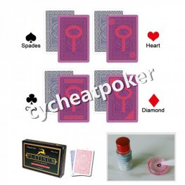 Modiano platinum Marked Poker for sales With anti Cheating cards lenses