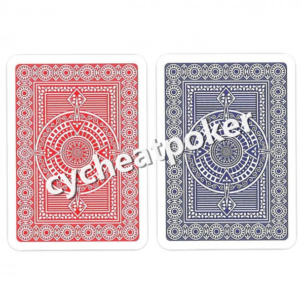 Modiano platinum Marked Playing Cards Magic Invisible Cards for UV Contact Lenses Cheat in Casino Ga