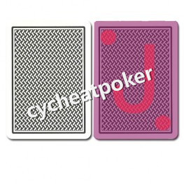 Copag Texas Hold 'Em marked card for Perspective lenses can cheat 3 card poker