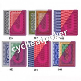 poker anti cheat marked card UV contact lenses GYT playing cards win tricks