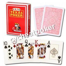 Modiano Texas Holdem naipes 100% plástico póker ver a través de lentes de contacto señales de tinta