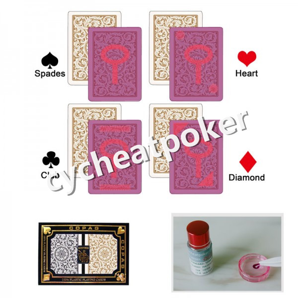 Invisible Marked Copag 1546 suitable for casino cheats magic shows accept custom