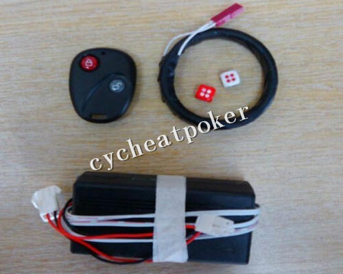 wireless Remote Control Dice Cheating Dice Magic Dice