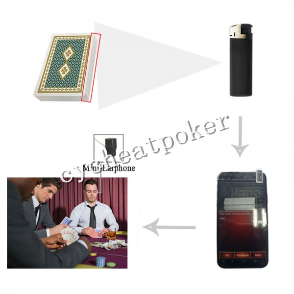 CVK Lighter poker camera chinese poker cheat