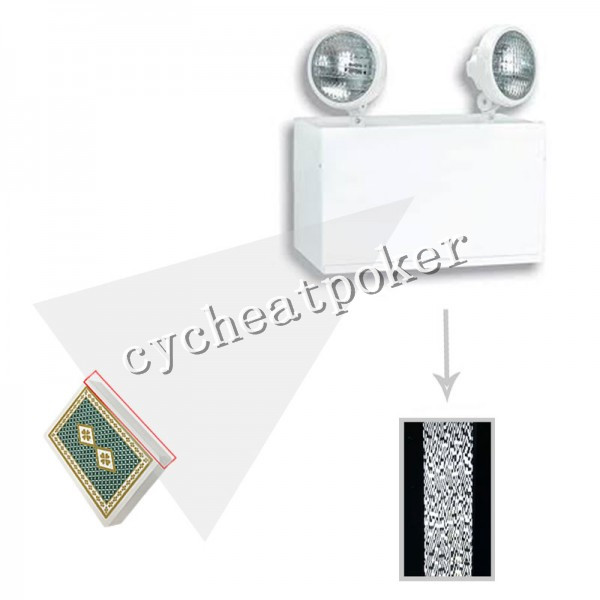 Light Poker Camera for cheating playing card