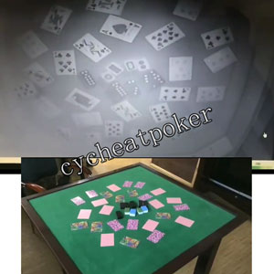 Perspective spy camera Texas Hold'em table Poker Cheating Desk Sensor Poker board