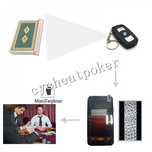 Car key poker scanner | magic poker