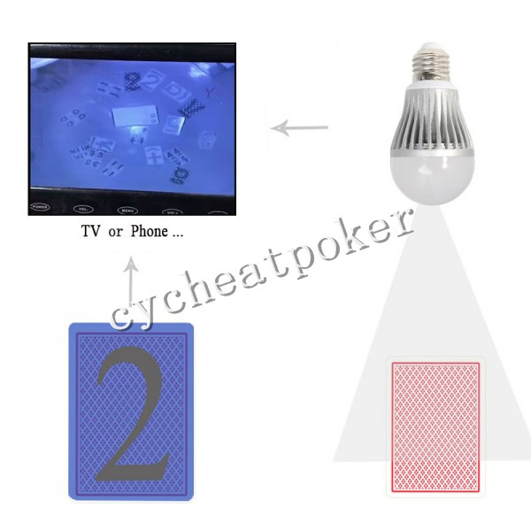 spot light Cheat poker Monitoring cheat lens device