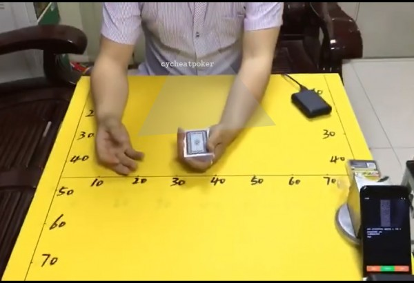 Button poker camera analyze the result of game